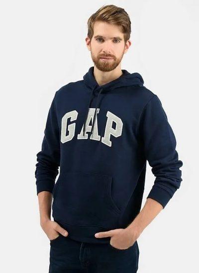 Buso Gap De Hombre Capota Azul Oscuro