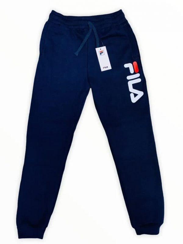 Pantalón De Hombre Sudadera Jogger Fila Azul Oscuro